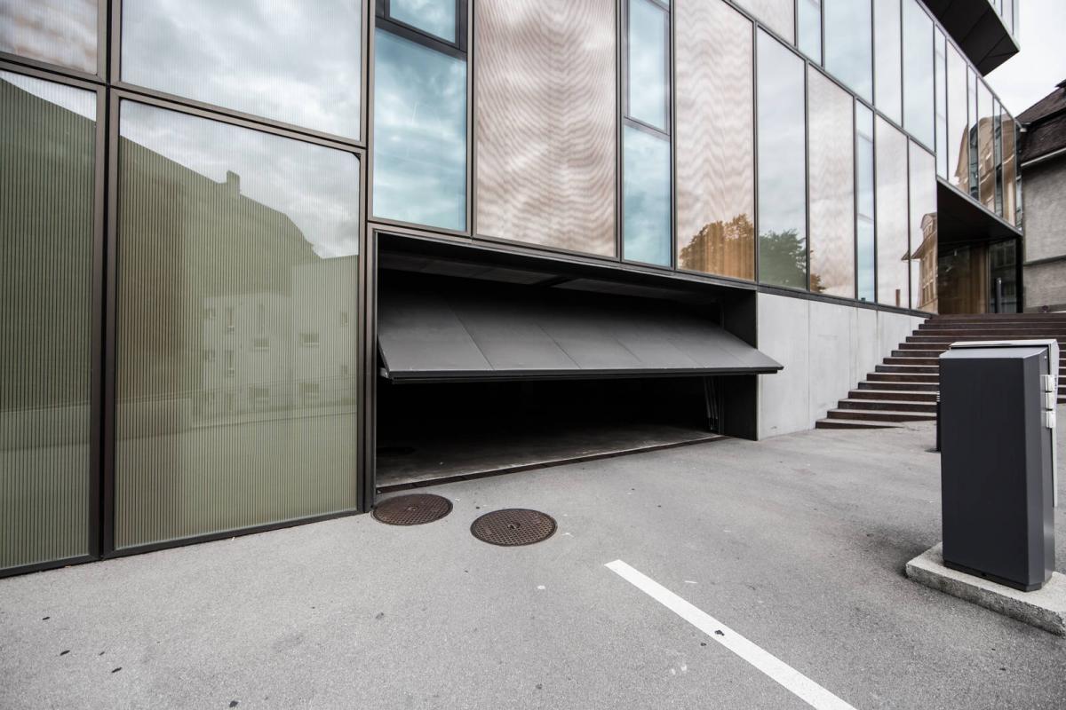 Up-and-over door